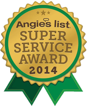 Angie's List 2014 Superior Service Award